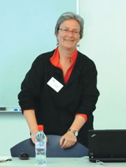 Jacolyn Harmer presenter at the May GM.